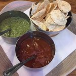 Poppadoms and dips