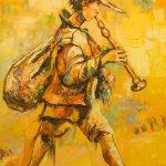 Obraz Le Troubadour