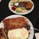 Mexican Omelette & Corned Beef Hash