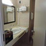 salle de bain très petite