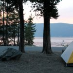 East Lake Campground site #1