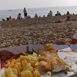 Fishy on the beach