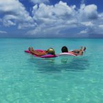 Grace Bay beach ....... just floating your cares away