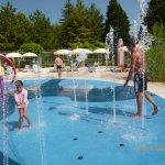 heated water playground