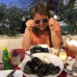 Mussels with Dalmatinian vine and garlic and olive oil - the most delicious dish of all mussels