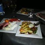 Prodotti della cena nell'Orto
