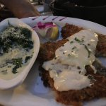 Sand Dabs and Creamed Spinach