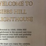 A little information about Gibbs Hill Lighthouse