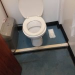 The swimming pool changing room toilets. Dirty, stunk of urine and not acceptable.