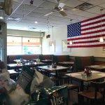 interior of Bedford Street Diner