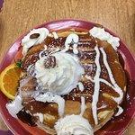 Cin Swirl pancakes