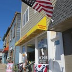 the downtown Munising Muldoon's store