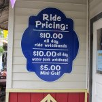 Conneaut Lake Park Ride and Water Park Pricing