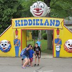 Conneaut Lake Park - Kiddieland Entrance is a great place for a selfie