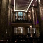 Gorgeous Art Deco interior at Rockpool Bar & Grill