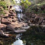 serene waterfalls