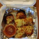 Burnt cheese bread