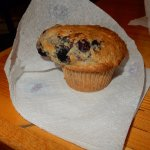 Home made muffin for breakfast.. perfect!