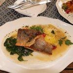 Fish (Saiblingfilet) - delicious