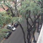 vista desde el balcon calle Guatemala