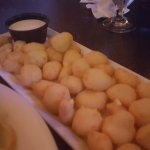 Awesome white cheddar cheese curds!