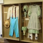 How boy and girl dressed at the time