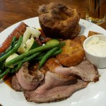 Roast Beef, Yorkshire Pud & all the trimmings - still good Sep '17