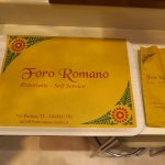 Foto de Foro Romano Self Service
