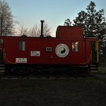 The Northern Pacific caboose suite.