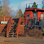 Our Great Northern caboose Suite
