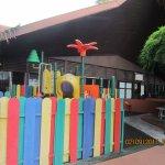 Ourdoor Kids play area