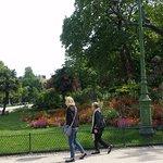 Park Monceau à quelques minutes de l'hôtel Darcet, c'est une merveille!