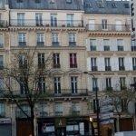 Rue Darcet à coté Boulevard des Batignolles