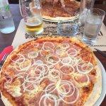 Pizzeria skalinada Foto