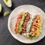 Our Shrimp Burrito.