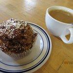bread pudding muffin