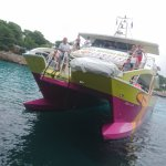 Foto de Barcos con fondo de cristal Starfish