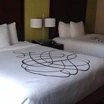 2 camas queen.