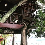 Tree house at the Malibest Resort Langkawi