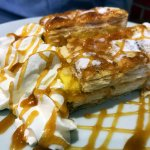 Custard pastry dessert