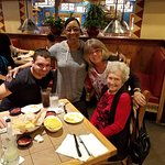 Sean, Memaw and Brandy with our favorite server/manager Brenda