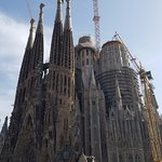 Segrada Familia -- you ride to view the outside but do not go inside at all.