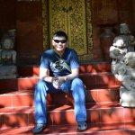 Me at the Negeri Propinsi Museum in Denpasar