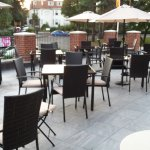 New sun terrace