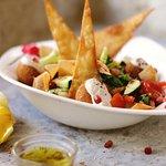 falafel & fatoush salad