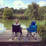 Match lake fun