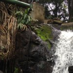 Refreshing sight of the waterfall in Oloolua