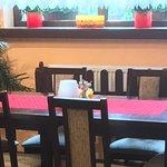 W środku restauracji czyś klimat Włoch