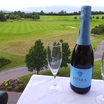 Enjoy a bottle of Prosecco on the balcony overlooking amazing views
