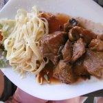 Sauté de veau (plat du jour)